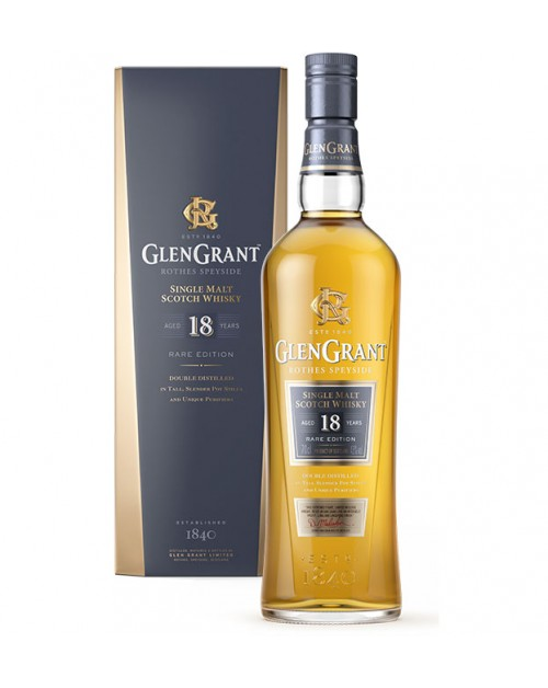 Glen Grant 18 Year Old Single Malt Whisky