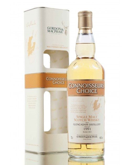 Glencadam 1991 (bottled 2013) - Connoisseurs Choice