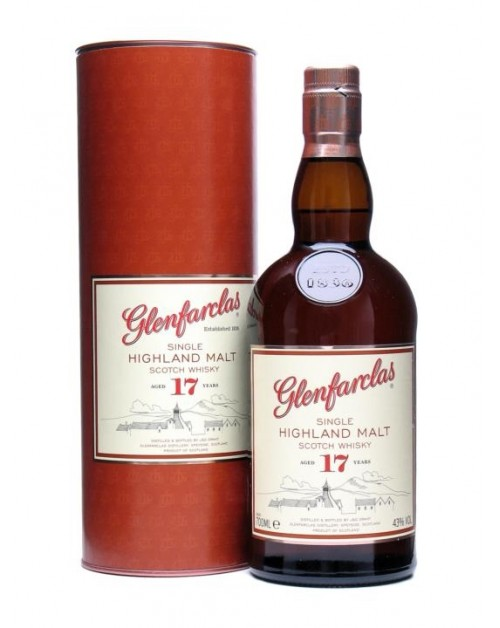 Glenfarclas 17 Year Old Single Malt Whisky