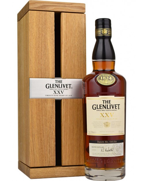 Glenlivet XXV (25 Year Old) Single Malt Whisky