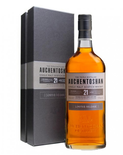 Auchentoshan 21 Year Old Single Malt Whisky