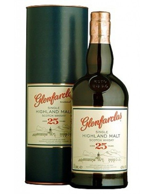 Glenfarclas 25 Year Old Single Malt Whisky