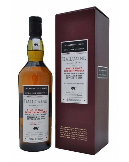 Dailuaine Managers' Choice 2010 Release