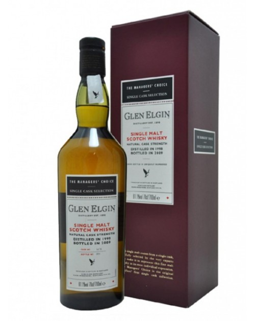 Glen Elgin Managers' Choice 2009 Release