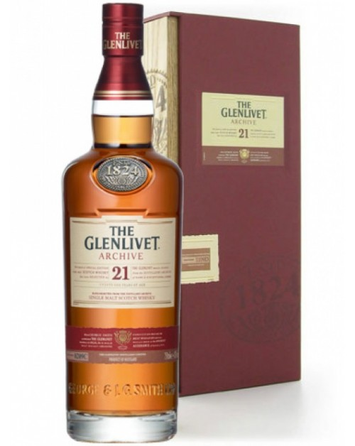 Glenlivet 21 Archive Year Old Single Malt Whisky