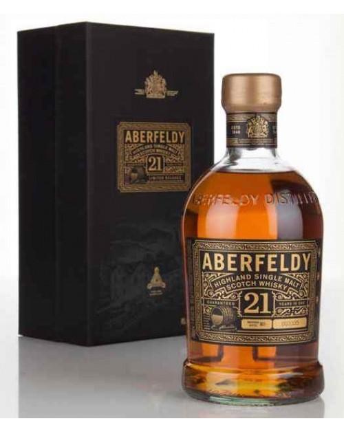 Aberfeldy 21 Year Old Single Malt Whisky