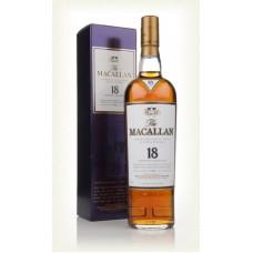 Macallan 18 Year Old Single Malt Whisky