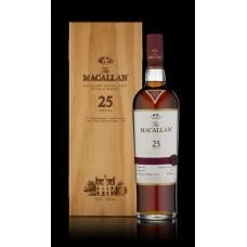 Macallan 25 Year Old Single Malt Whisky