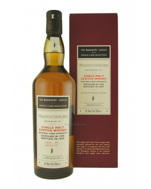 Mannochmore Managers Choice 2010 Release