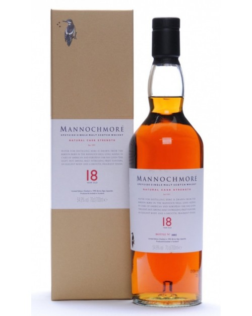 Mannochmore 18 Year Old 2009 Release Single Malt