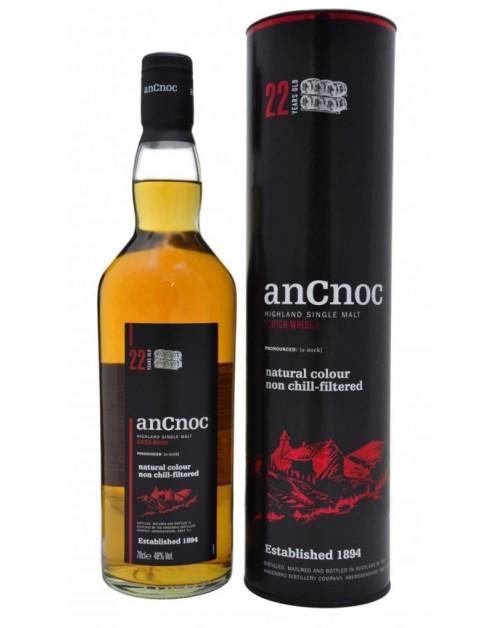 anCnoc 22 Year Old Single Malt Whisky