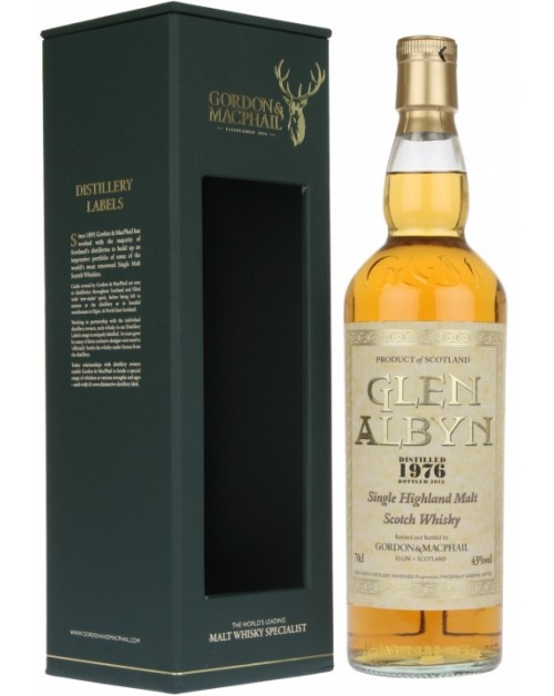 Glen Albyn 1976 Single Malt Whisky