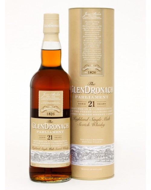 Glendronach Parliament 21 Year Old Single Malt
