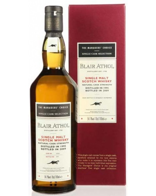 Blair Athol Managers' Choice 2010 Release