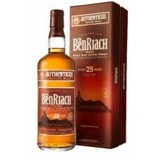 BenRiach 25 year Old Authenticus Single Malt