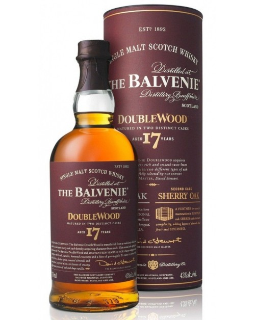 Balvenie Doublewood 17 Year Old Single Malt Whisky