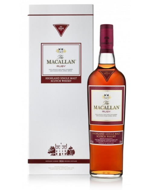 Macallan Ruby 1824 Series Single Malt Whisky