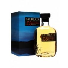 Balblair 2003 1st Release Single Malt Whisky