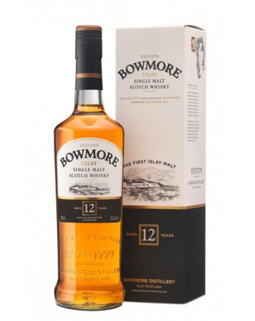 Bowmore 12 Year Old Single Malt Whisky