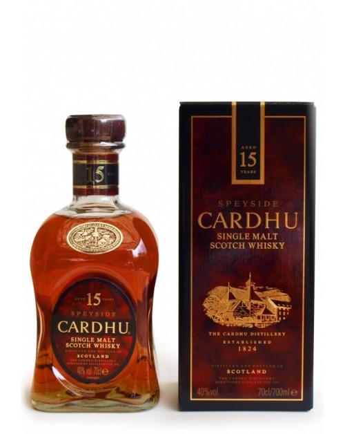 Cardhu 15 Year Old Single Malt Whisky