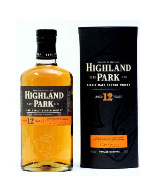 Highland Park 12 Year Old Single Malt Whisky