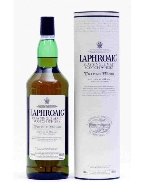 Laphroaig Triple Wood Single Malt Whisky