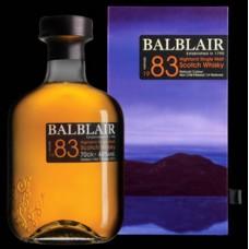 Balblair 1983 1st Release Single Malt Whisky