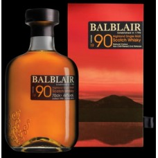 Balblair 1990 2nd Release Single Malt Whisky