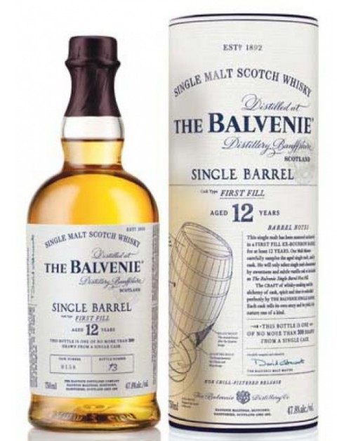 Balvenie 12 Year Old Single Barrel Single Malt