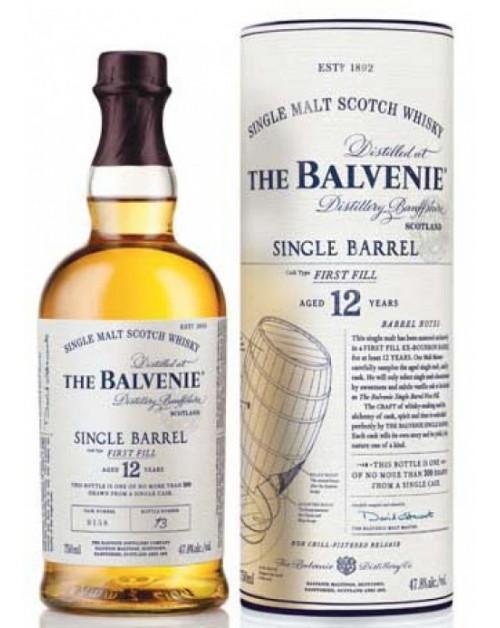 Balvenie 12 Year Old Single Barrel Single Malt