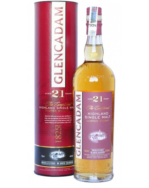 Glencadam 21 Year Old Single Malt Whisky