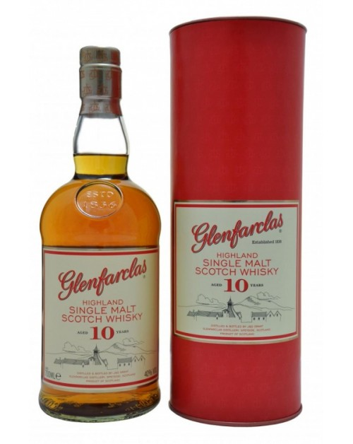 Glenfarclas 10 Year Old Single Malt Whisky