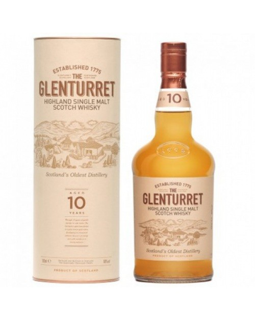 Glenturret 10 Year Old Single Malt Whisky