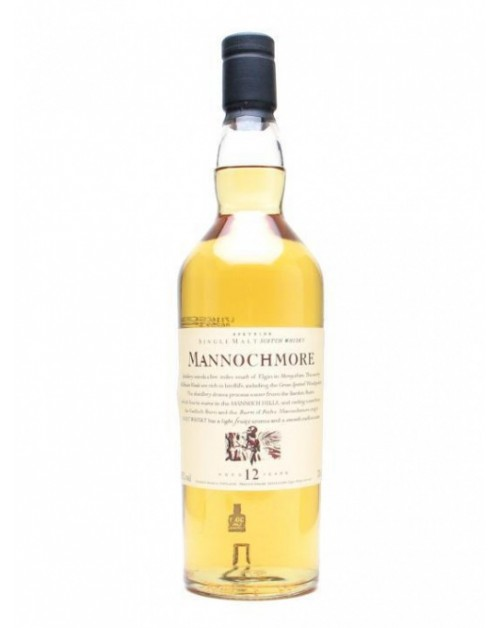 Mannochmore 12 Year Old Single Malt Whisky