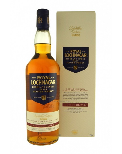 Royal Lochnagar 2000 Muscat Finish Single Malt