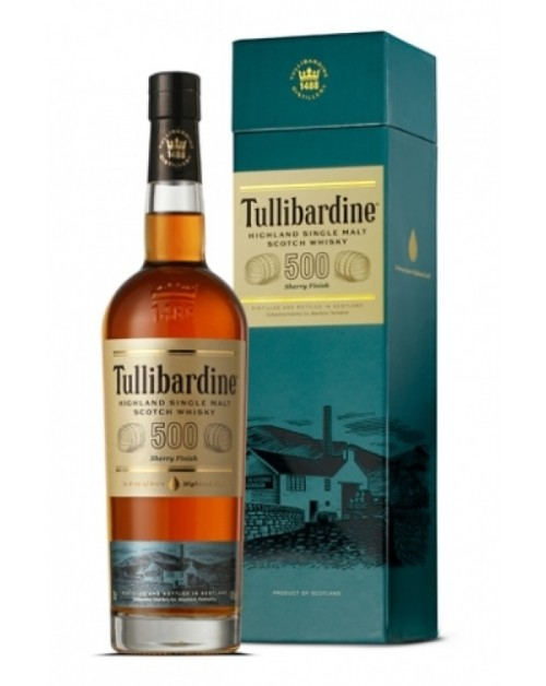 Tullibardine 500 Sherry Finish Single Malt Whisky