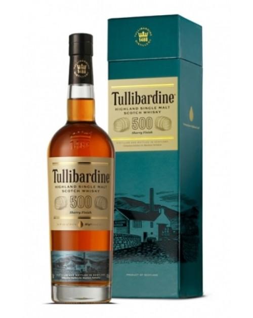 Tullibardine 500 Sherry Finish Single Malt Whisky