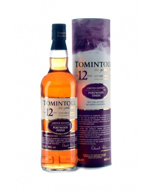 Tomintoul 12 Year Old Portwood Finish