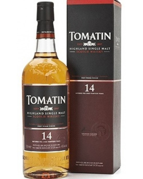 Tomatin 14 Year Old Port Wood Finish Single Malt Whisky