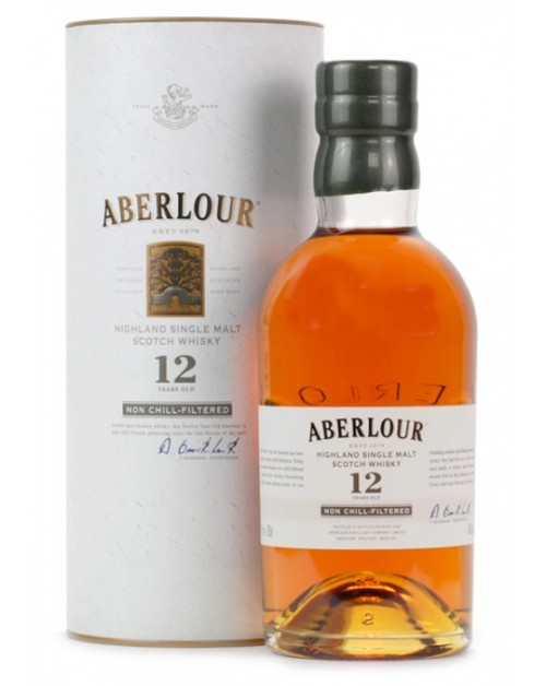 Aberlour 12 Year Old Non Chill Filtered Malt