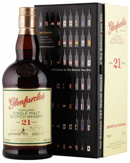 Glenfarclas 21 - with '101 Whiskies to Try' Book