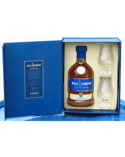 Kilchoman Machir Bay; Glass Gift Pack