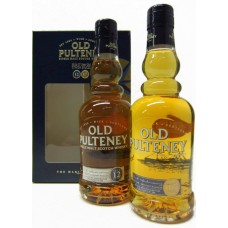 Old Pultney; Two 35cl Bottle Gift Pack