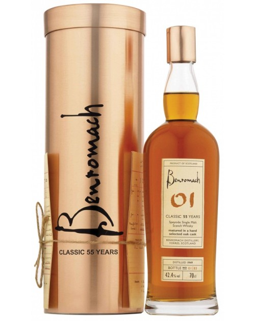 Benromach Classic 55 Year Old Single Malt Whisky