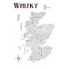 Scotch Whisky Sat Nav Map
