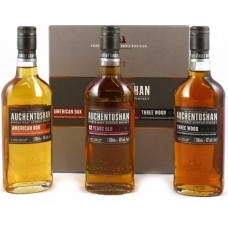 Auchentoshan Gift Pack; Three Great Whiskies