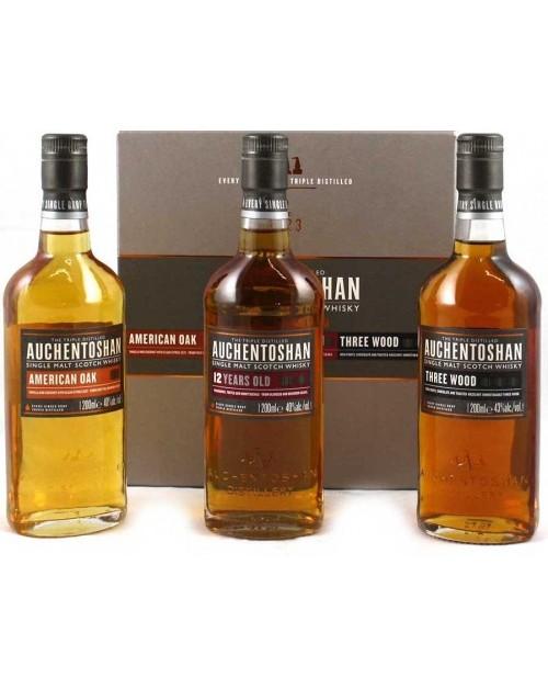Auchentoshan Gift Pack; Three Great Whiskies