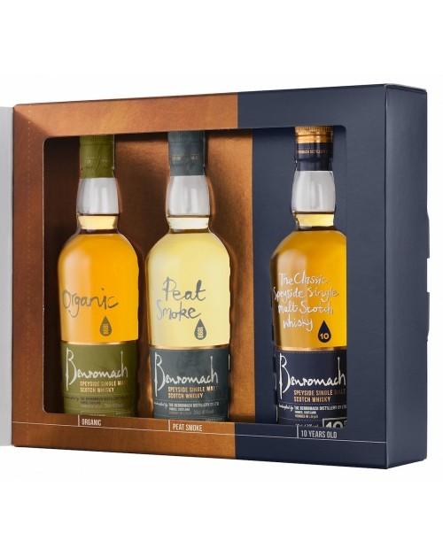 Benromach Three Bottle Whisky Gift Pack