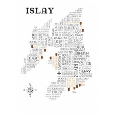 Islay Sat Nav Whisky Map