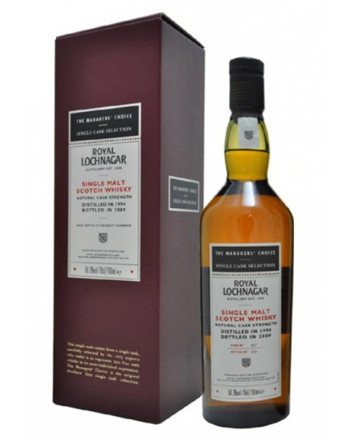 Royal Lochnagar 1994 Managers' Choice 2010 Release